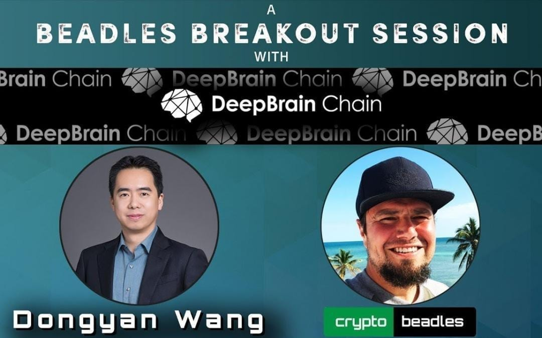 HUGE news from DBC Deep Brain Chain (Crypto) Chief AI Officer Dongyan Wang