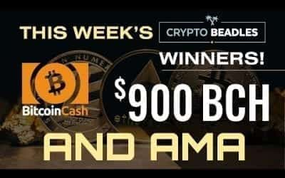 LIVE $900 In BCH giveaways, Crypto, Bitcoin, Blockchain AMA and MORE!