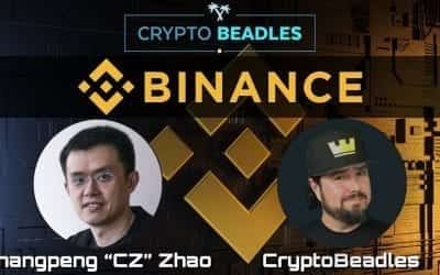 Awesome chat with CZ the Founder of Binance, the Worlds Largest Crypto Exchange