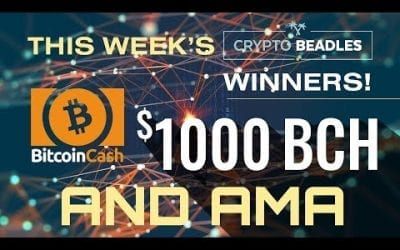 One Thousand Dollars in LIVE Giveaways! AMA and More!⎮Blockchain⎮Bitcoin⎮Crypto⎮