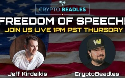Freedom of speech is crucial! Join us live with Jeff From Uptrennd!