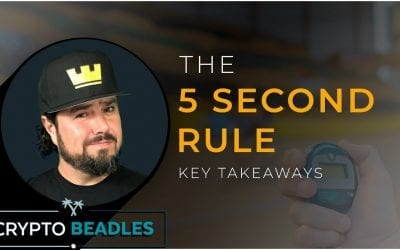 If you wanna get whats yours in life you gotta go it! Meet the 5 Second Rule by Mel Robbins!