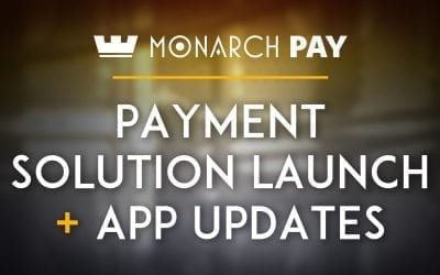 MonarchPay Cryptocurrency-To-USD Payment Solution Launched & Monarch Wallet adds Bitcoin & Ethereum Fiat pairings in App!