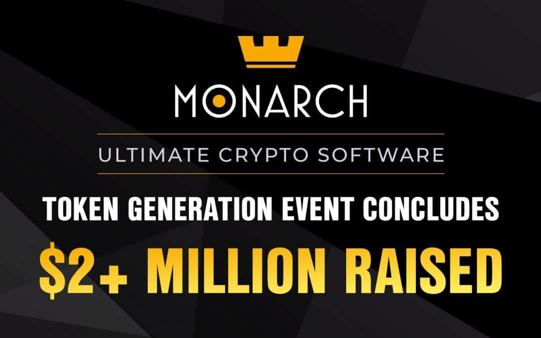 Monarch Crowns TGE: $2 Million+ Raised to Build Ultimate Crypto Software Suite