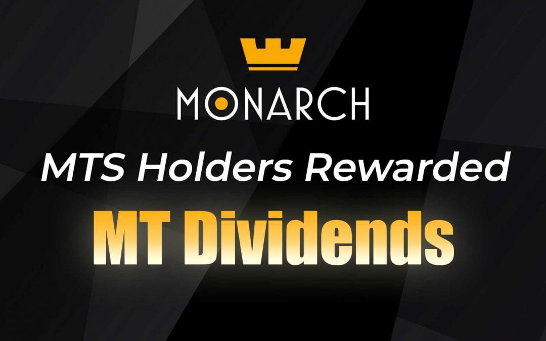 Monarch Blockchain Corporation Rewards MTS Holders with MT Dividends
