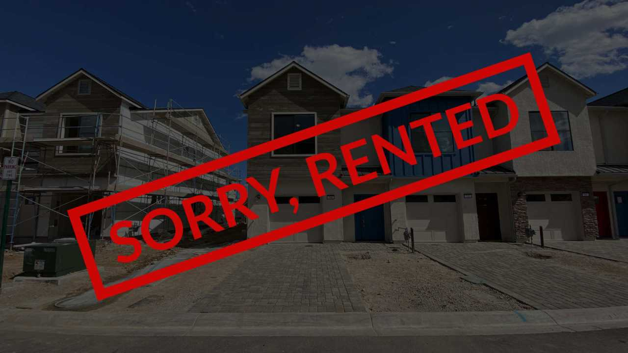 Sorry, Rented - 540 Gloria May Way